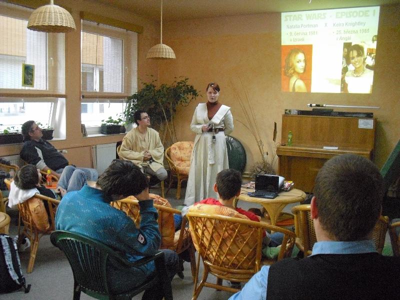 2. přednáška v čajovně FZŠ Brdičkova