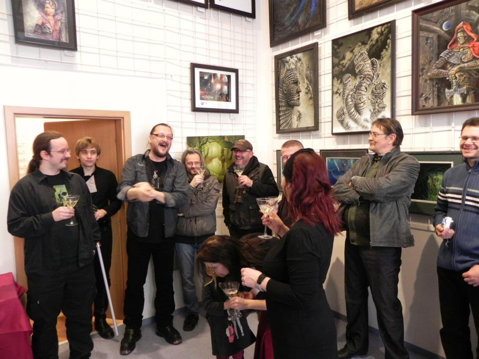 Křest v galerii Nemesis