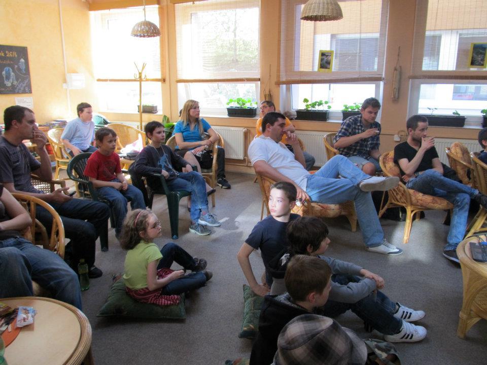3. přednáška v čajovně FZŠ Brdičkova