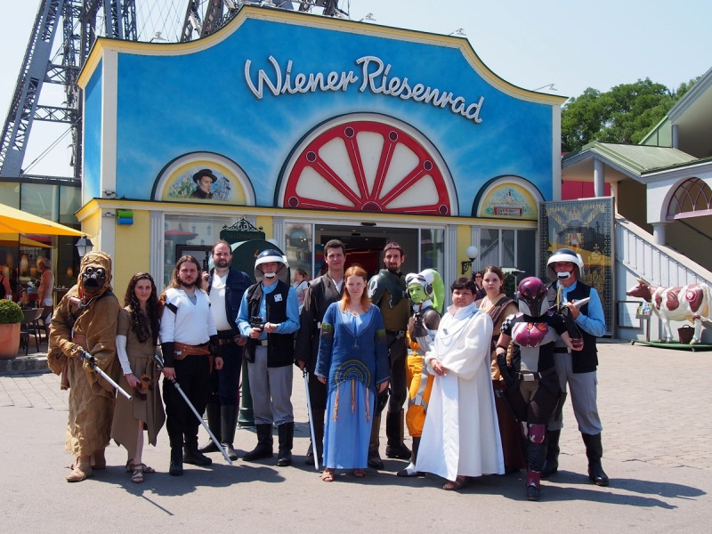 Sciencefiction Day Prater 2015