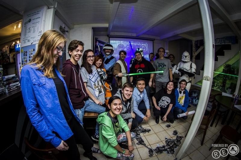 JRC Star Wars Battlefront launch party